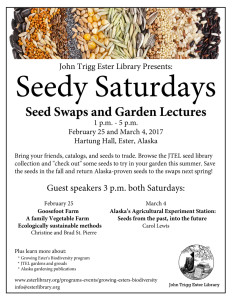Seedy Saturday Web