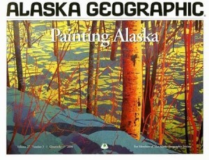 Painting Alaska, by Kesler Woodward.